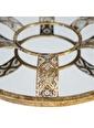 Vitale Vitale AK.EU0068 Lux Telkari 50 cm Yuvarlak Formlu   Duvar Aynası Renkli